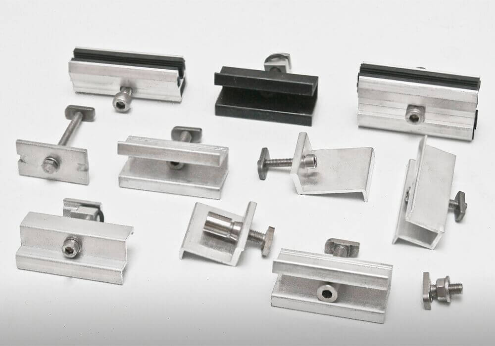 Module fastener for every roof covering