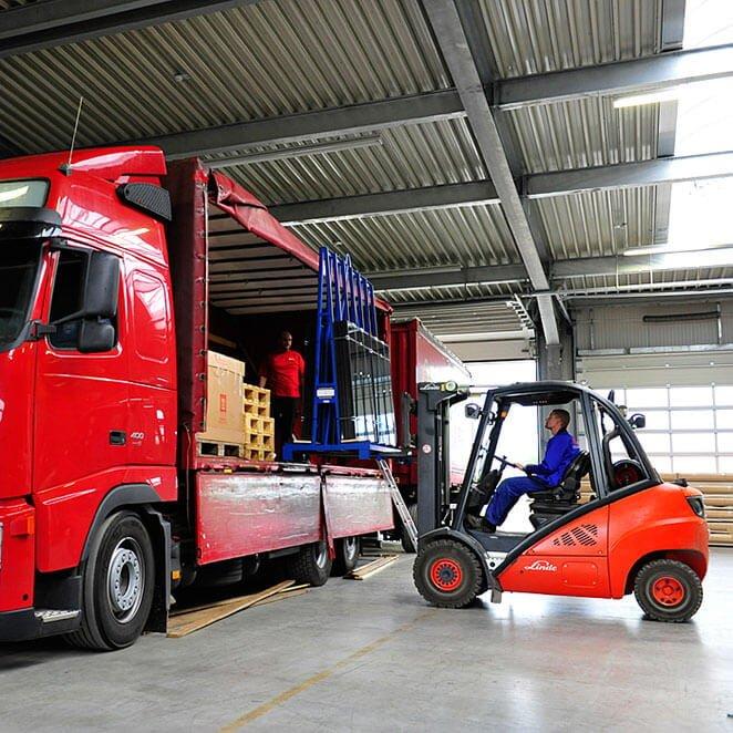 Lagerung und Transport