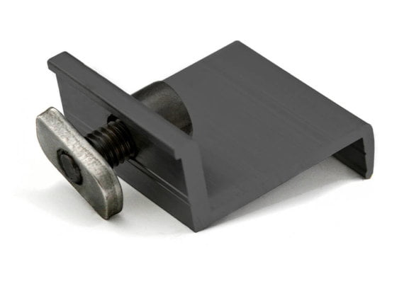 End-clamp for fastening og photovoltaic modules