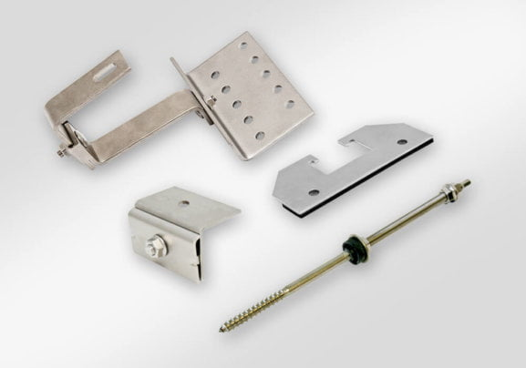 Roof mounting parts