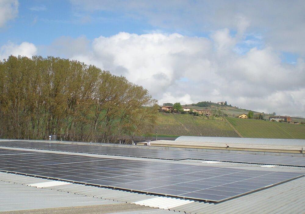 Solar Montagesystem für Wellblecheindeckung