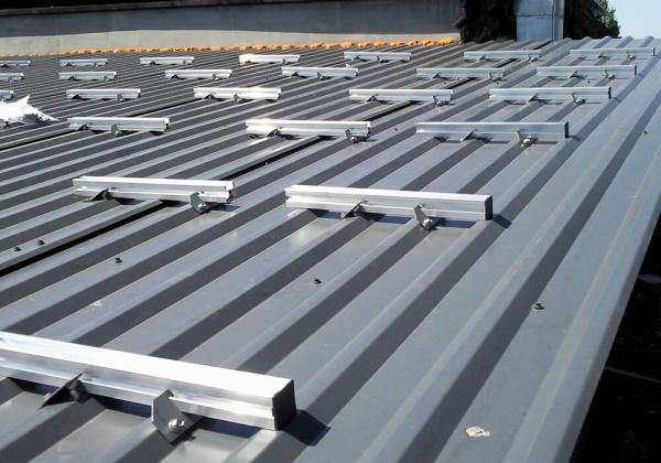 Hervorragend Trapezdach Solar Montagesysteme - ALTEC Metalltechnik YR14
