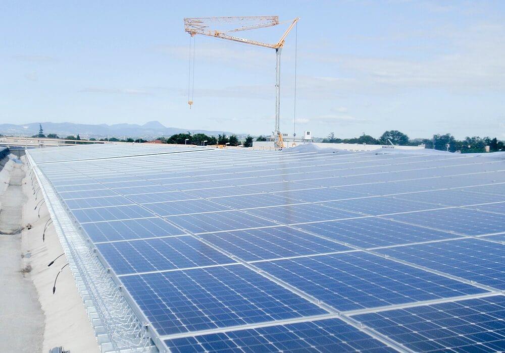 Solar Montagesystem mit Trapezblechbefestigung