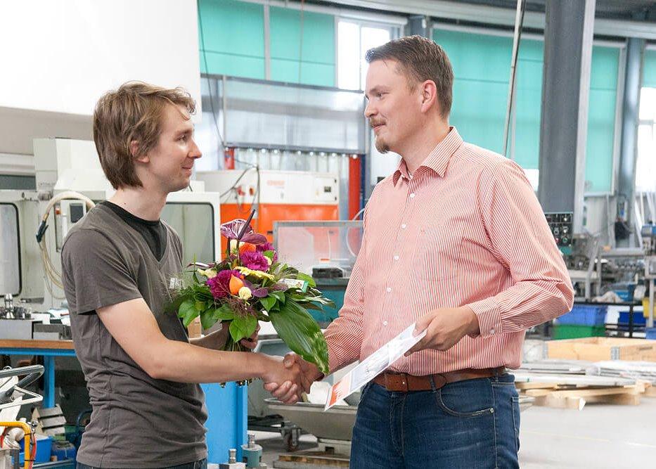 Andreas Keim und Markus Stehle