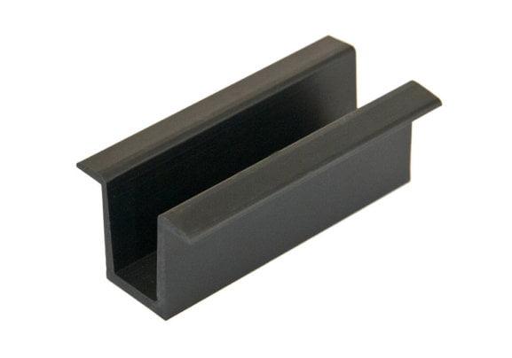 Schwarze Mittelklemme für Photovoltaik-Module