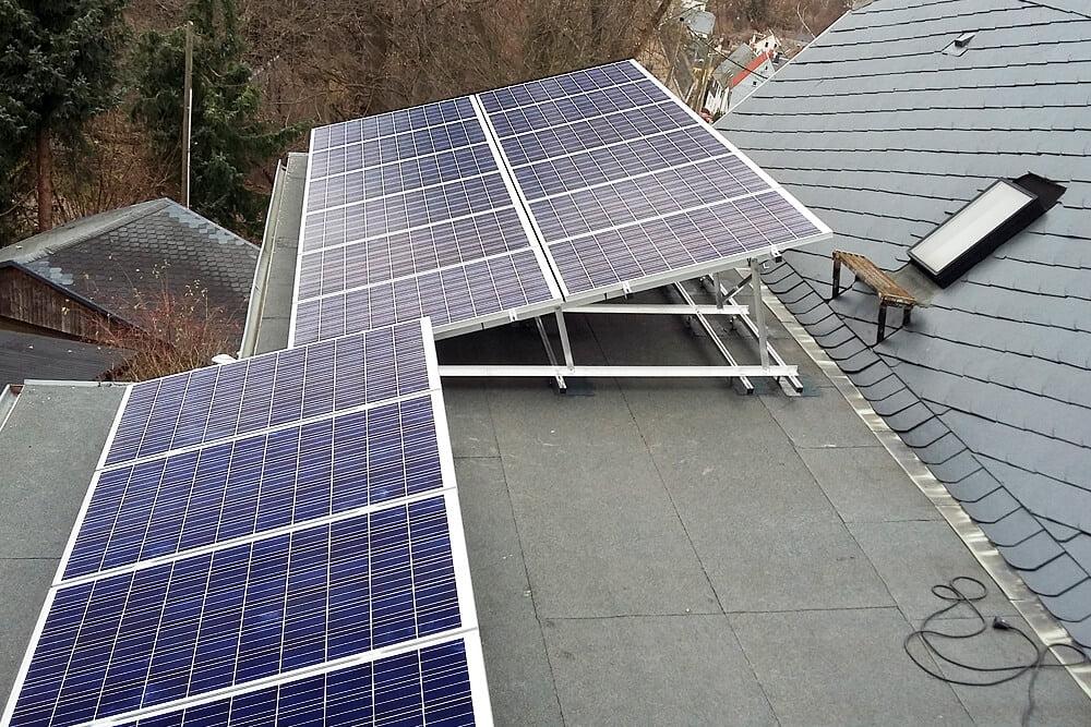 solar aufst nderung auf bitumendach solar montagesysteme und blechbearbeitung altec. Black Bedroom Furniture Sets. Home Design Ideas